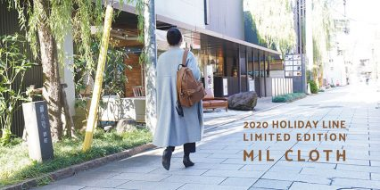 2020 HOLIDAY LINE COLLECTION 「MIL CLOTH」
